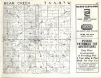 Bear Creek T4N-R7W, Hancock County 1963